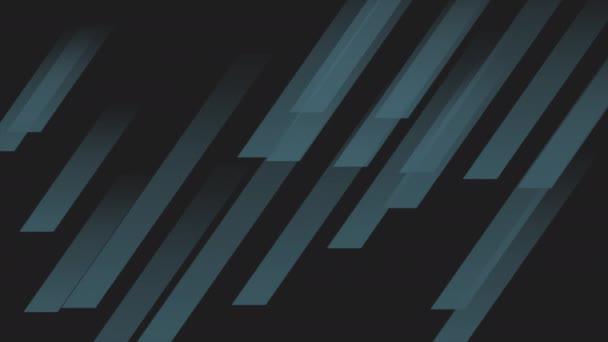 Motion intro geometrikus kék vonalak, elvont háttér