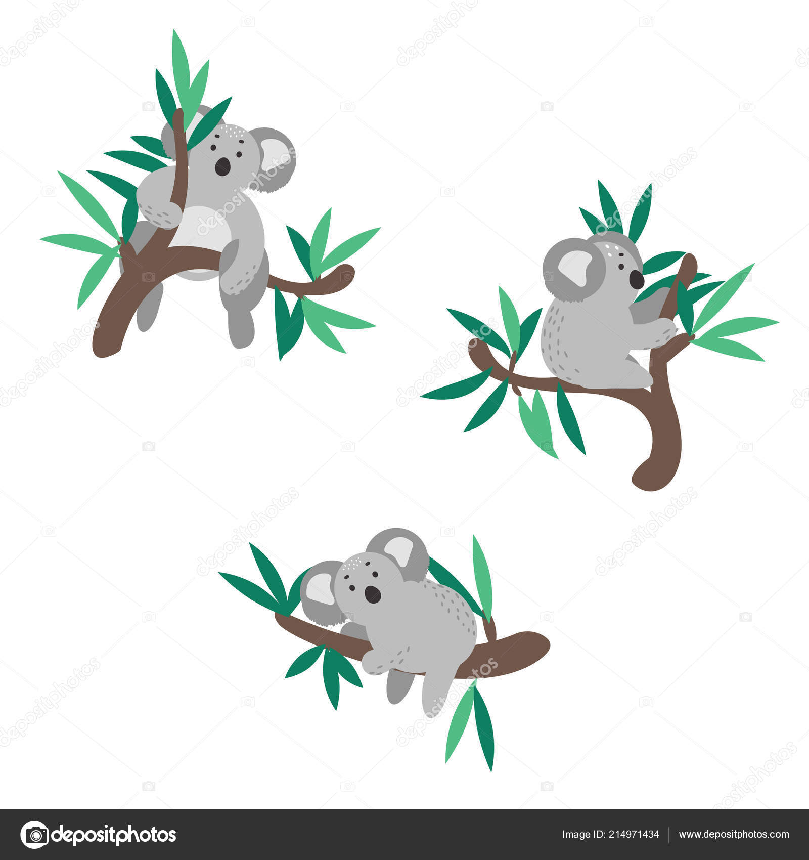 Clipart Koala Bear Cute Koala Bear Climbing On Eucalyptus Tree Vector Clipart Stock Vector C Inides 214971434 Choose from over a million free vectors, clipart graphics, vector art images, design templates, and illustrations created by artists worldwide! https depositphotos com 214971434 stock illustration cute koala bear climbing on html