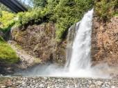 Una vista delle cascate di Franklin nello stato di Washington
