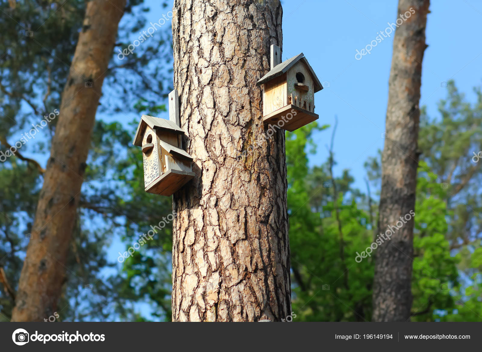 Terrific Diy Creative Hand Made Wooden Bird Houses Hanging Pine Tree Download Free Architecture Designs Scobabritishbridgeorg
