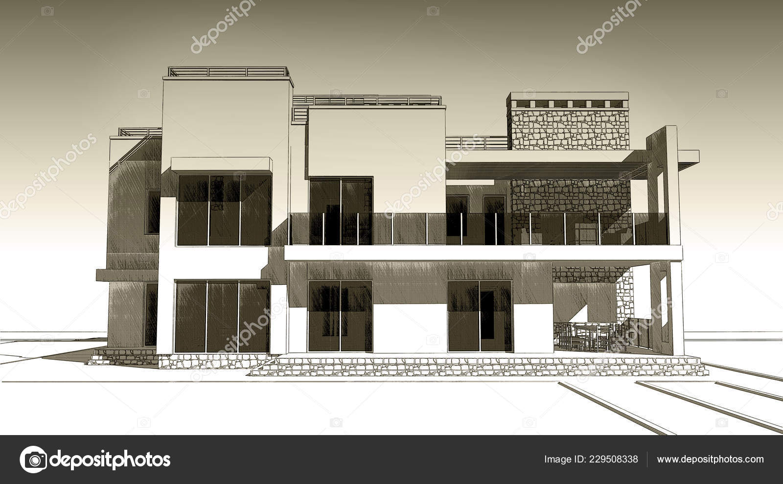 Drawings: pencil of old buildings | Pencil Sketch ...