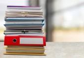 Soubory složky s dokumenty, detailní zobrazení
