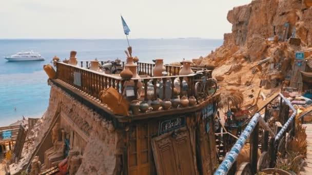 Vista panoramica della Moschea nel Deserto, Montagne e Alberghi in Egitto, Sharm el Sheikh