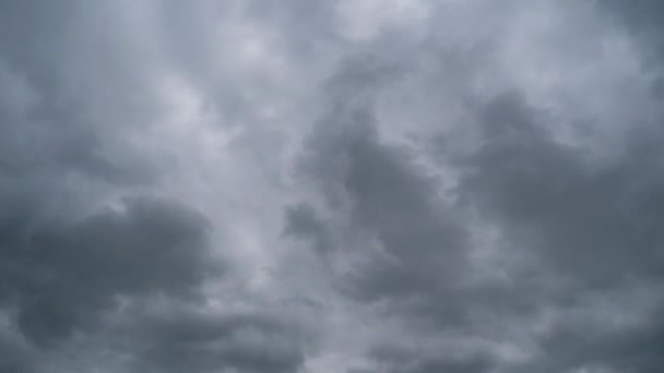 Storm Clouds are Moving in Sky, Timelapse.