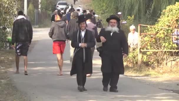 Október 2-án, 2016. Uman, region Cserkaszi, Ukrajna. Ros hásáná, Uman ünnepli. 5777 zsidó újév