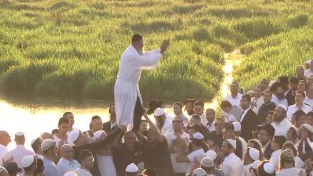 Október 3-án, 2016. Uman, region Cserkaszi, Ukrajna. Ros hásáná, Uman ünnepli. 5777 zsidó újév.
