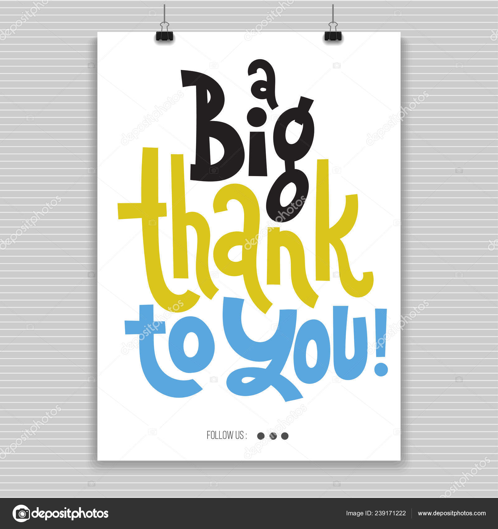Thank You Quotes And Stickers Stock Vector Svetagaintseva 239171222