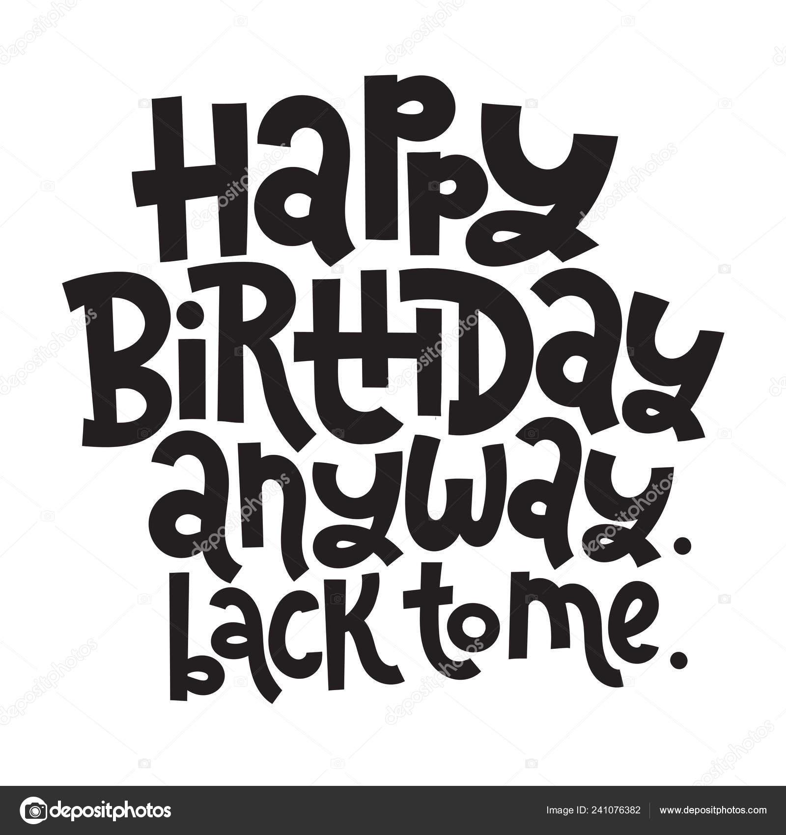 Irreverent Birthday Funny Comical Birthday Slogan Stylized