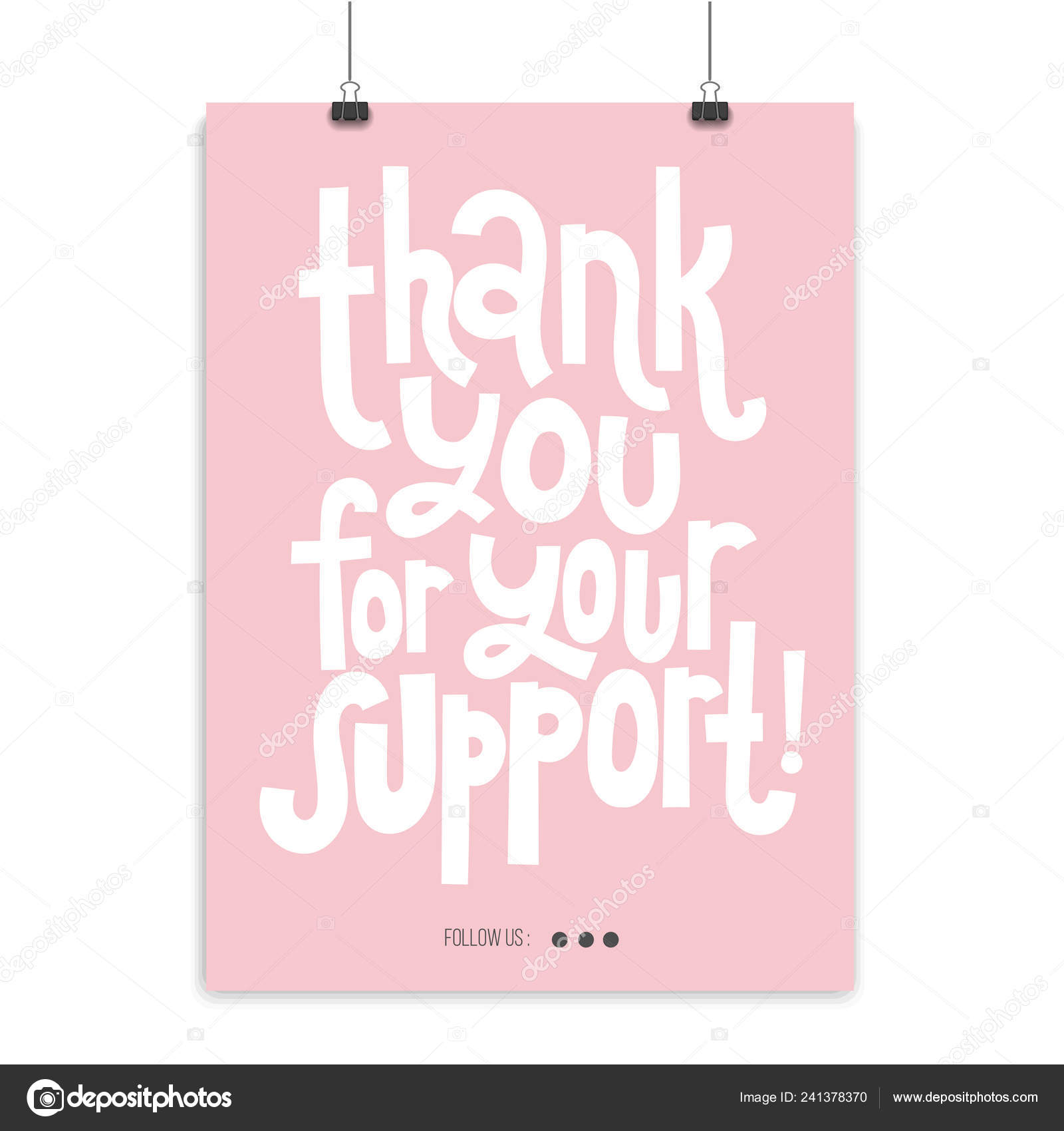 Thank you quotes and stickers — Stock Vector ...