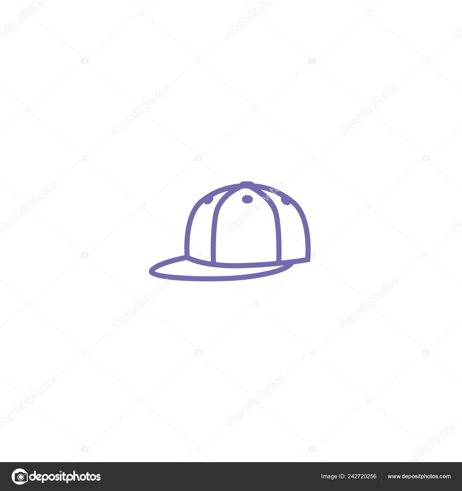 cap web icon — Stock Vector © LovArt  242720256 2f49db432b4