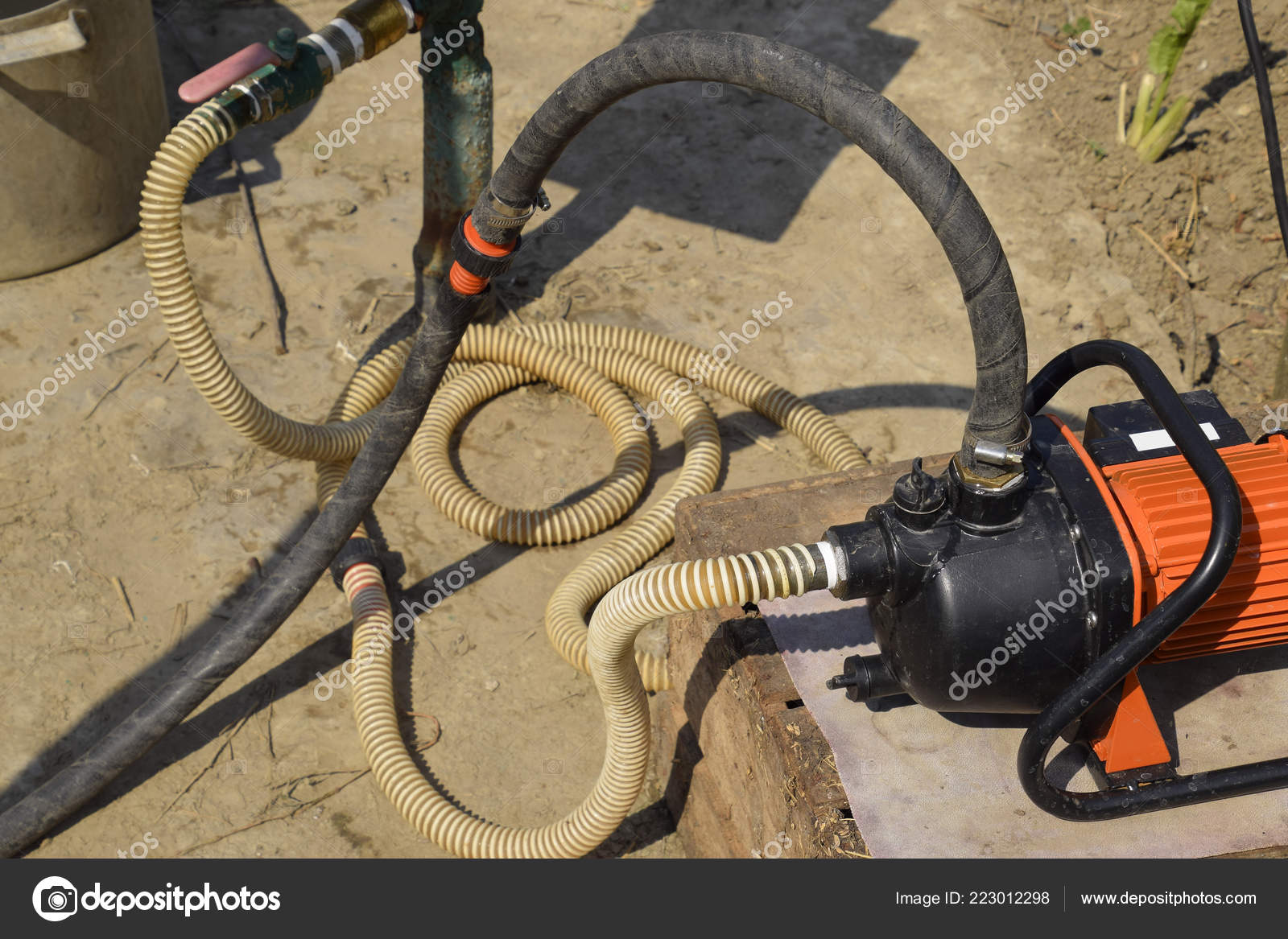Branchement de tuyau de jardin