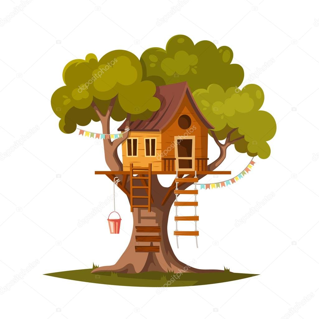 Tree house for kids