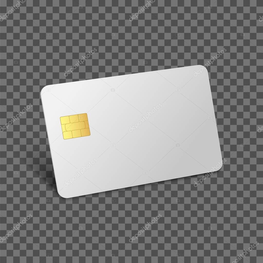 Credit Card Mockup Debit 3d Realistic Vector Bank Blank Template Vector Plastic Empty Chip Card Premium Vector In Adobe Illustrator Ai Ai Format Encapsulated Postscript Eps Eps Format
