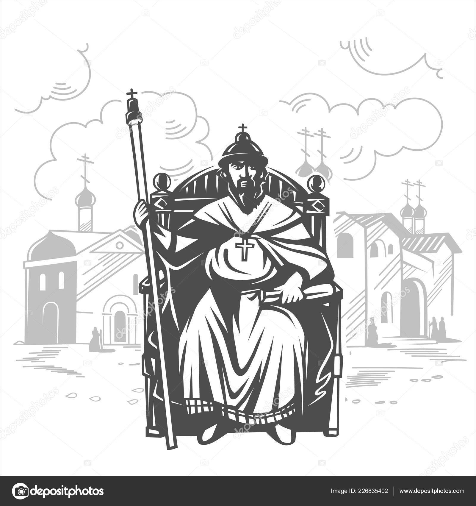 King Throne Drawing