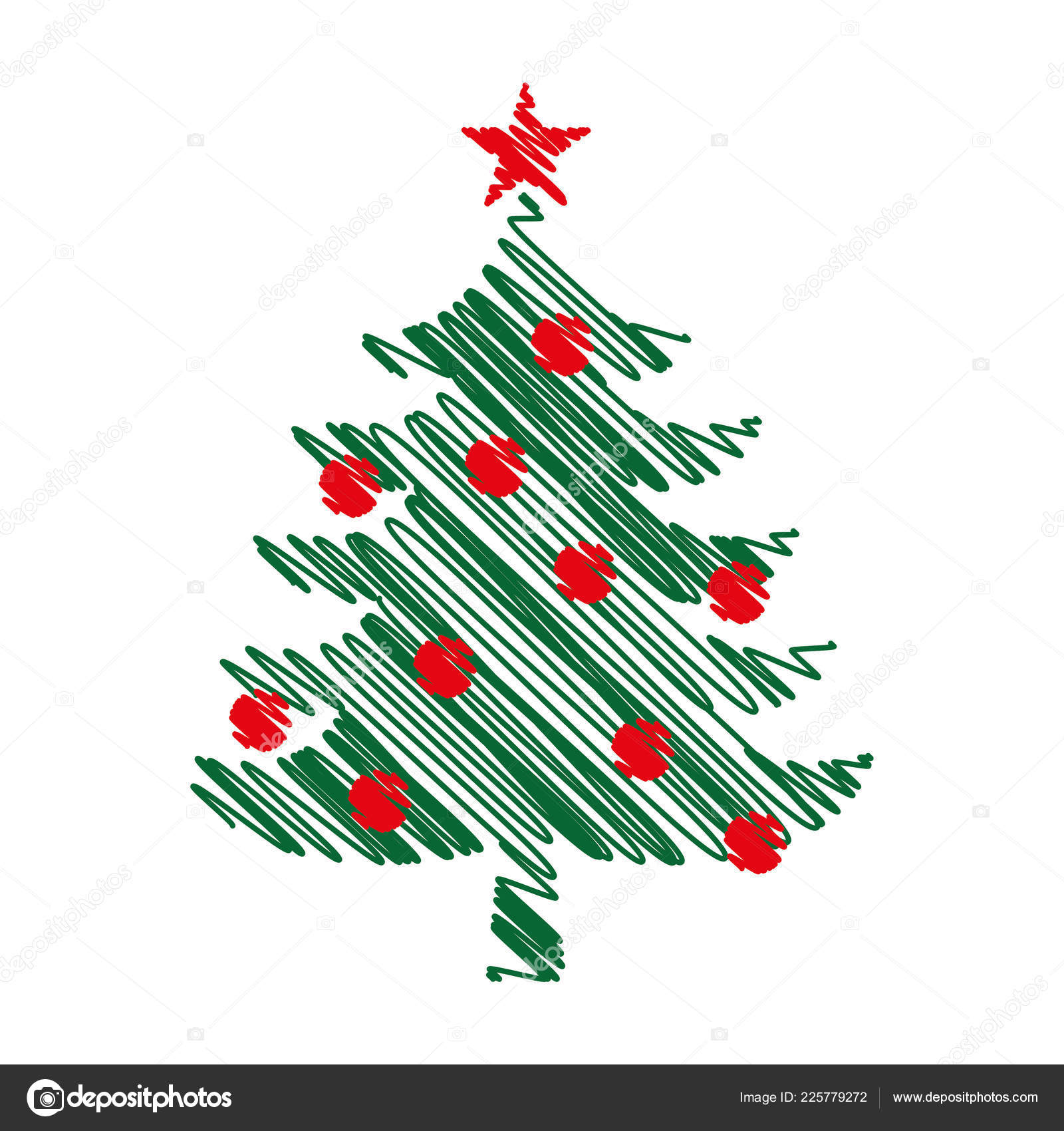 christmas tree graphic art design new year fir tree vector stock vector c zannaholstova 225779272 https depositphotos com 225779272 stock illustration christmas tree graphic art design html