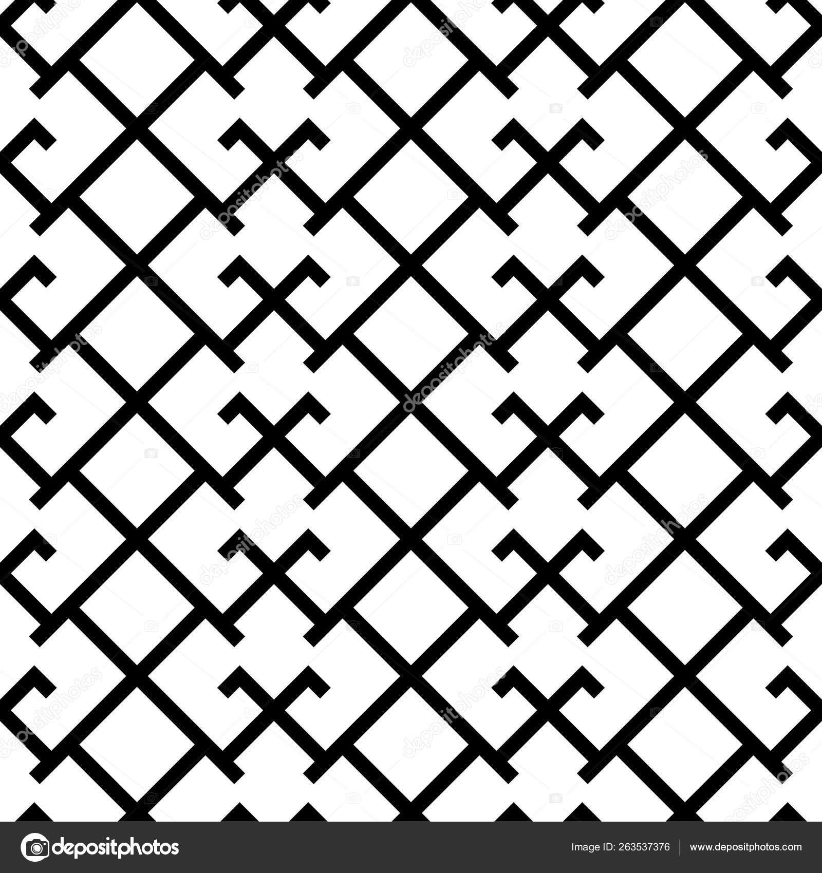 Latvian Happiness Cross Ornamental Martina Symbol Seamless Pattern