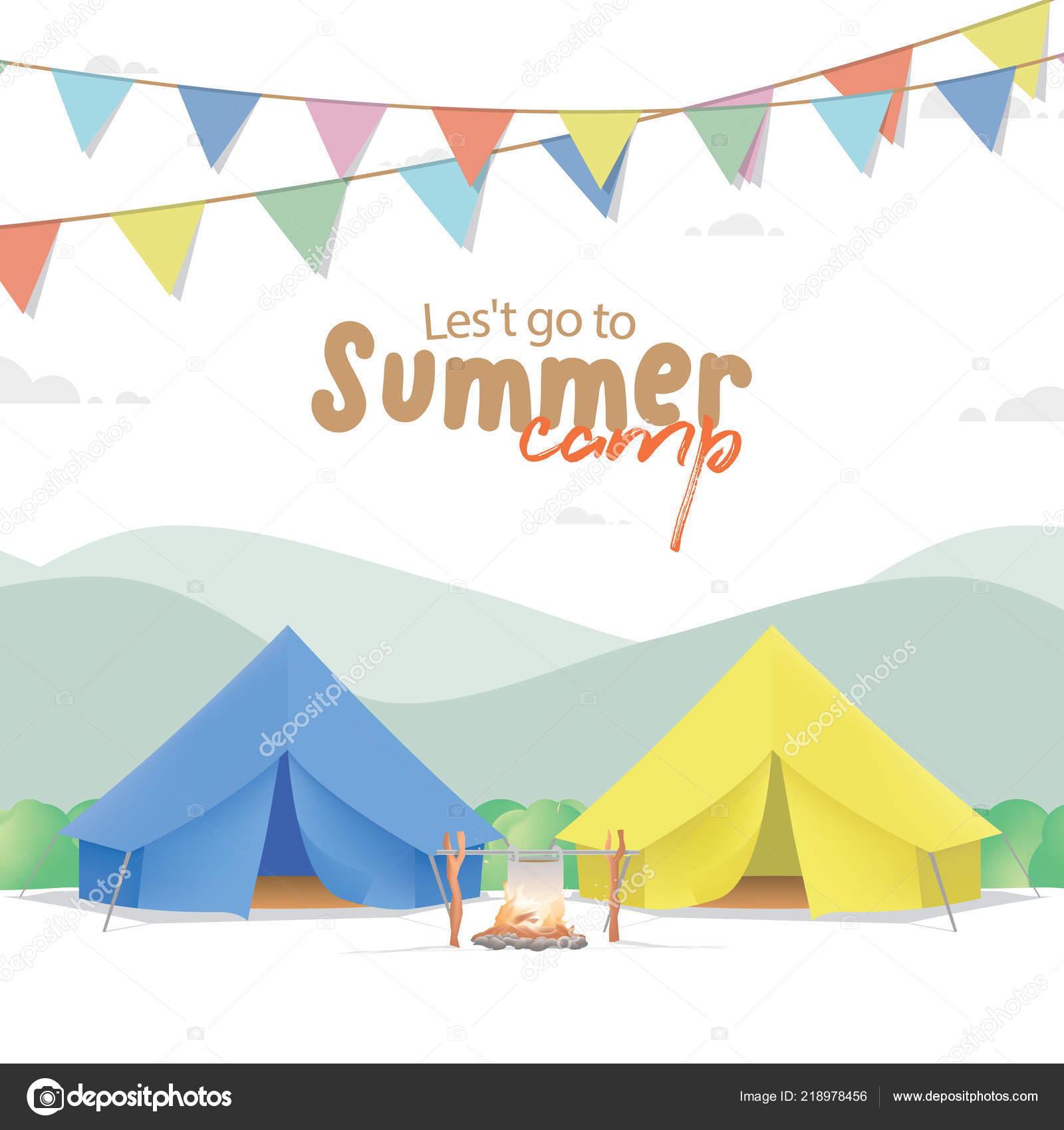Unduh 420+ Background Banner Camping HD Terbaik