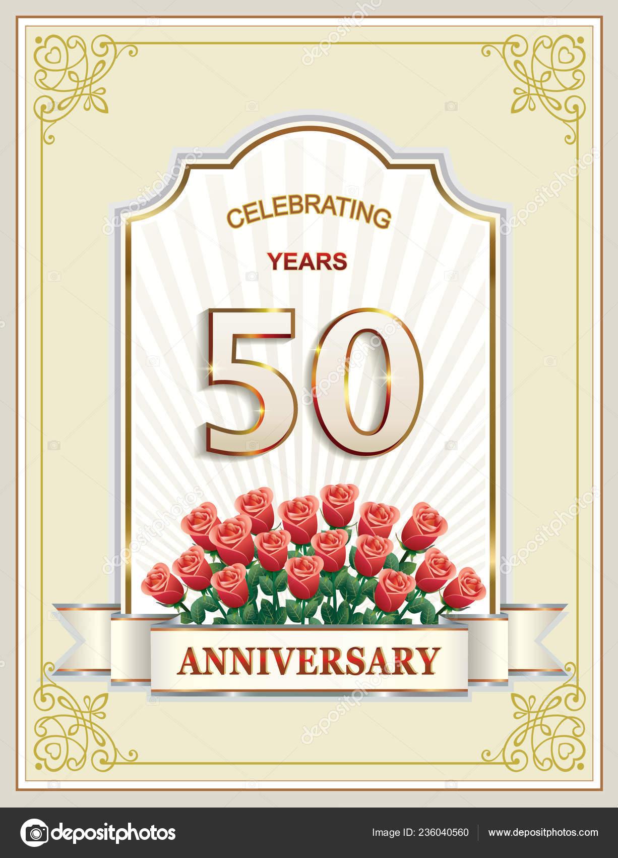 Anni Anniversario Buon Compleanno Cartolina Auguri Sfondo