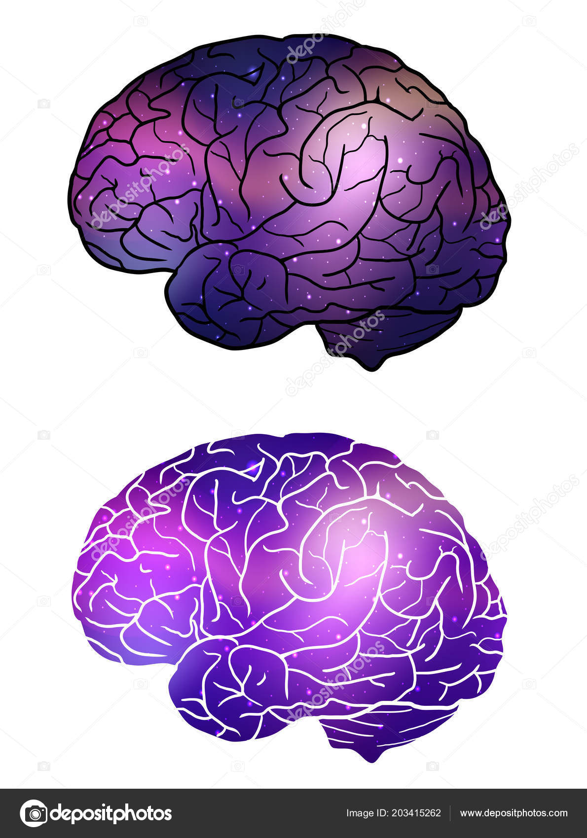 Set human brain cosmic background cosmos nebulae inspiration vector set human brain cosmic background cosmos nebulae inspiration vector element vetores de stock ccuart Gallery