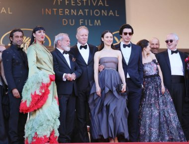Rossy de Palma, Terry Gilliam, Stellan Skarsgard, Olga Kurylenko, Adam Driver attend Closing Ceremony during the 71st  Cannes  Festival at Palais on May 19, 2018 in Cannes, France.