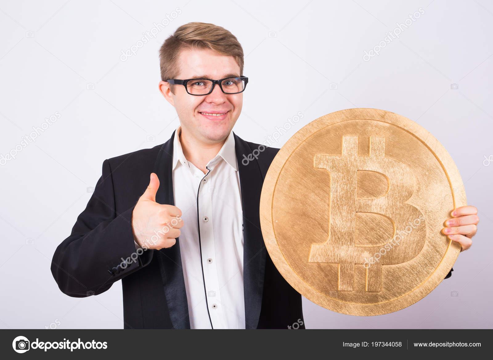 bitcoin man)
