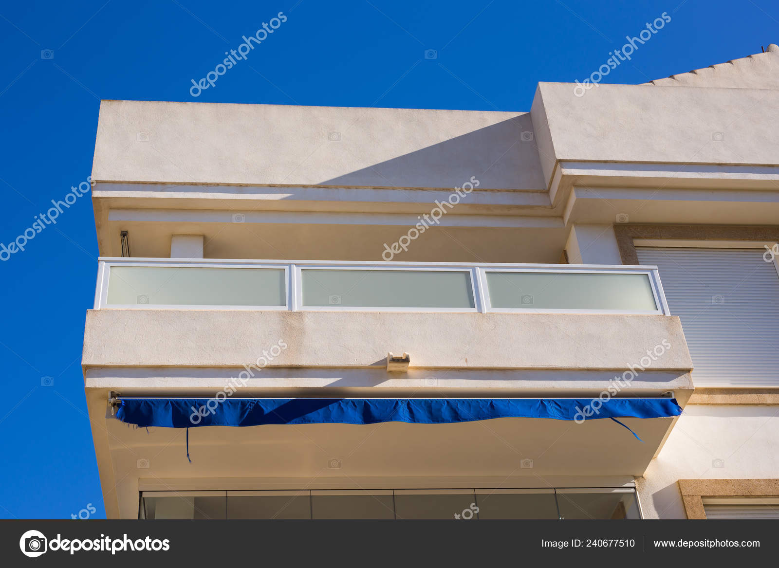 Design Architecture And Exterior Concept Modern Balconies Stock Photo C Satura 240677510