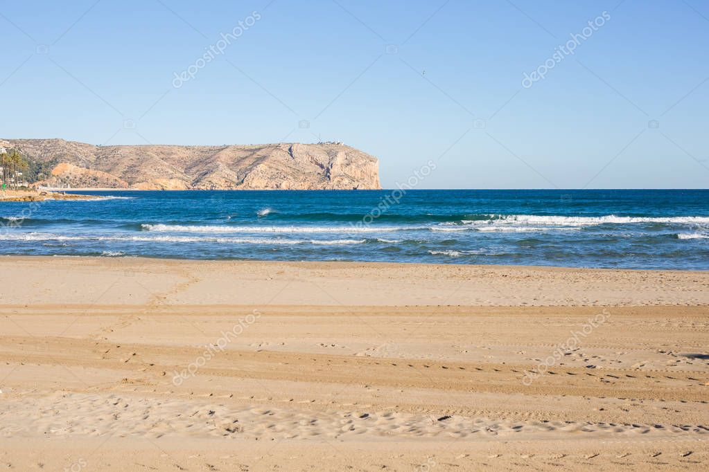 Nature and summer concept - Stunning mediterranean sea landscape with beautiful mountains