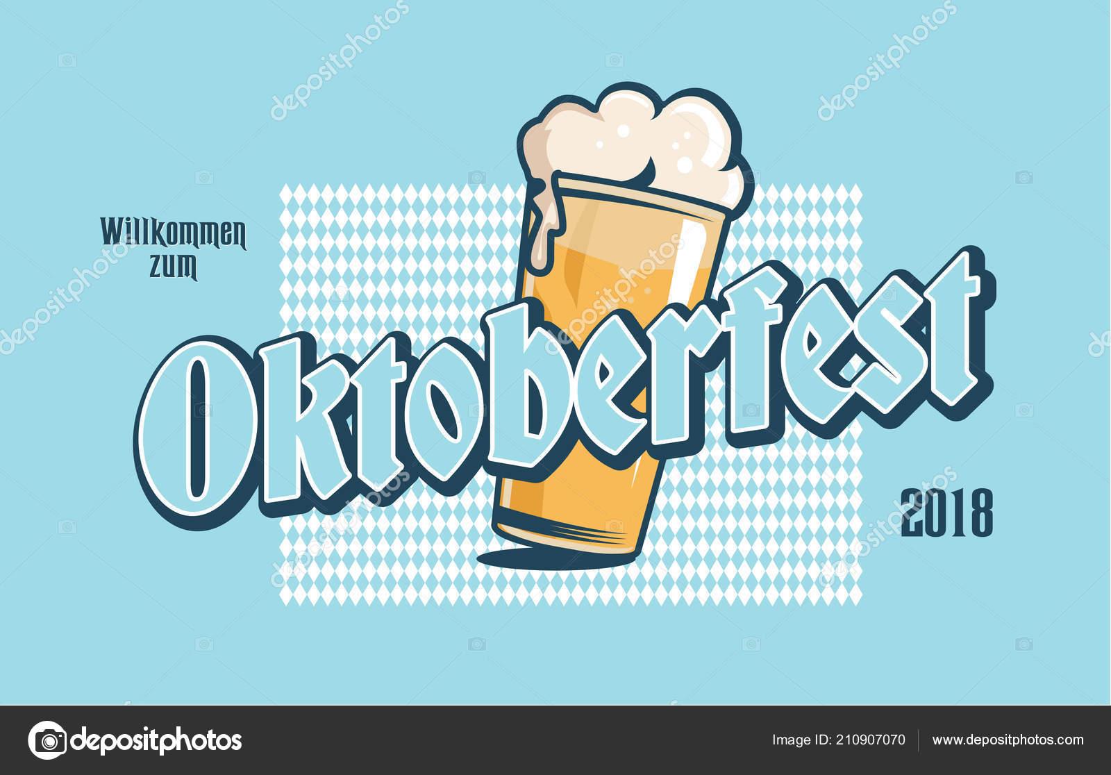 Oktoberfest Label Oktoberfest Typography Logo Greeting Cards Banners
