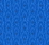 Absztrakt hullám minta. Kék gyűrűző háttér. Lapos geometriai design