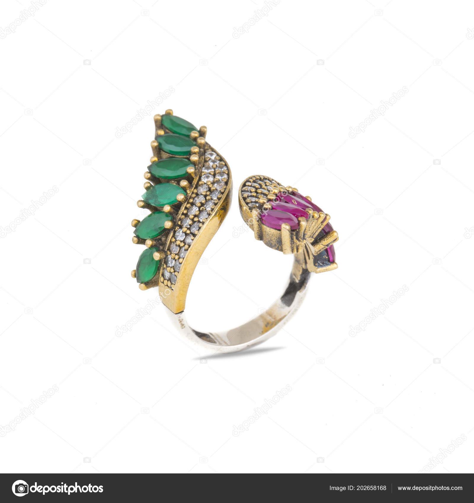 ad08ac6271fe Anillo Con Diamante Signo Amor Fondo Joyería Moda — Foto de stock ...