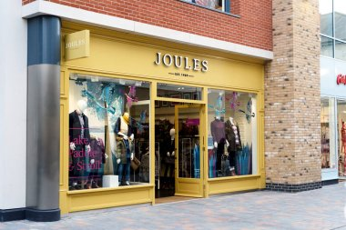 Exterior of Fashion Brand Joules Shop