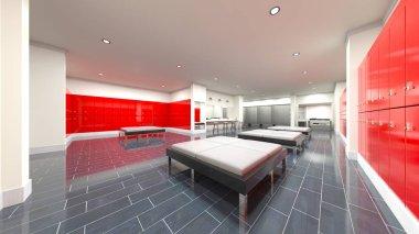 3D CG rendering of residence