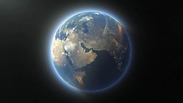 3D vykreslování cg vesmíru planety. Prvky tohoto obrazu zařízené podle Nasa.