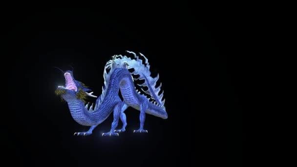 Létající drak 3D cg vykreslování