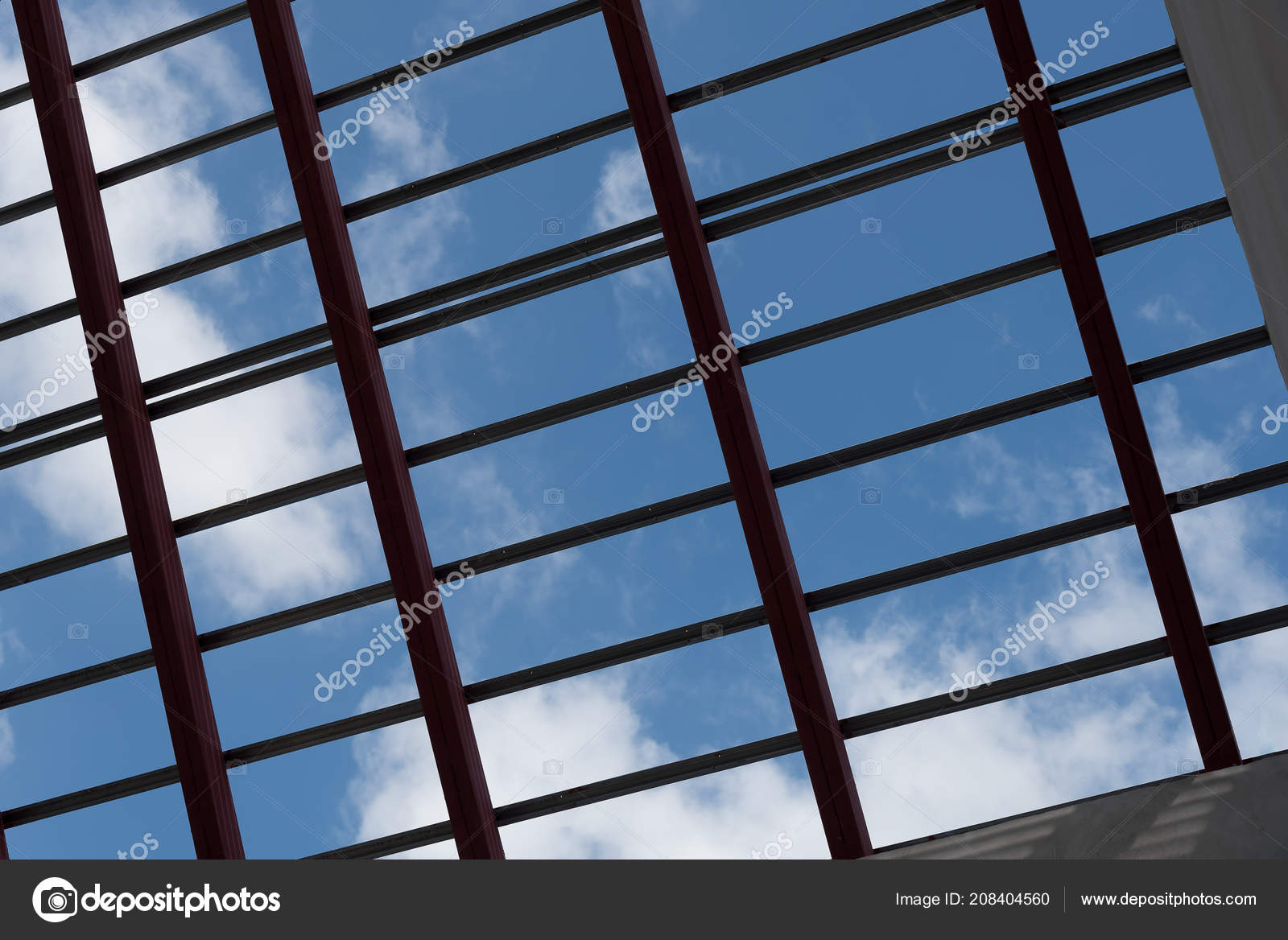 View Structural Steel Beam Roof Building Residential Construction