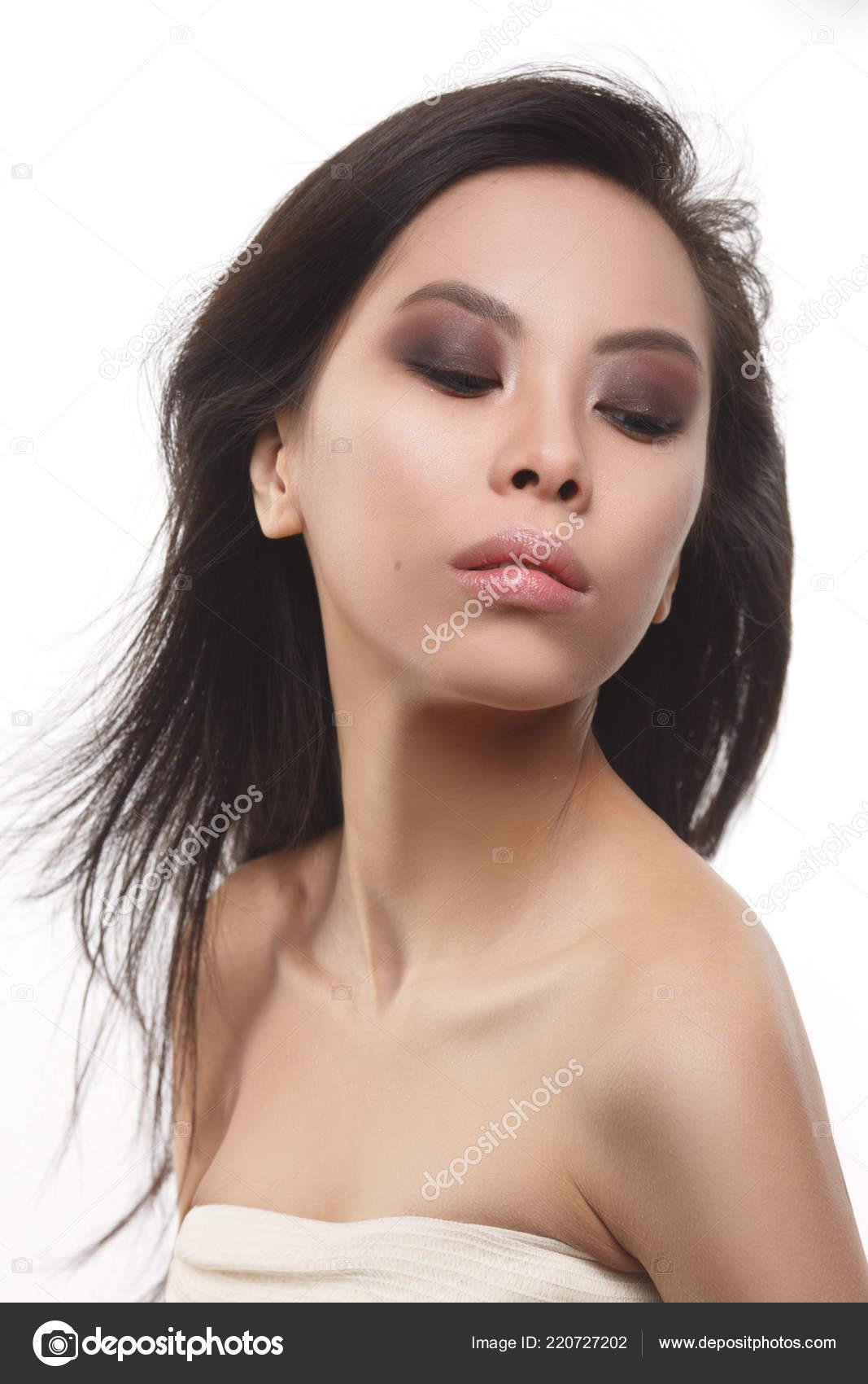 white asian girl