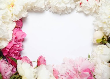 Flower frame from flowers by pion.