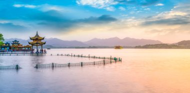 Beautiful scenery of West Lake, Hangzhou