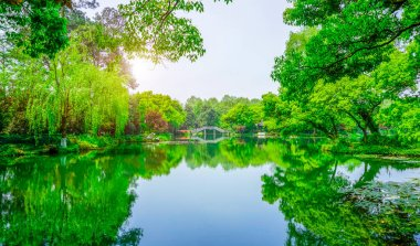The Beautiful Shan'shui of West Lake in Hangzhou