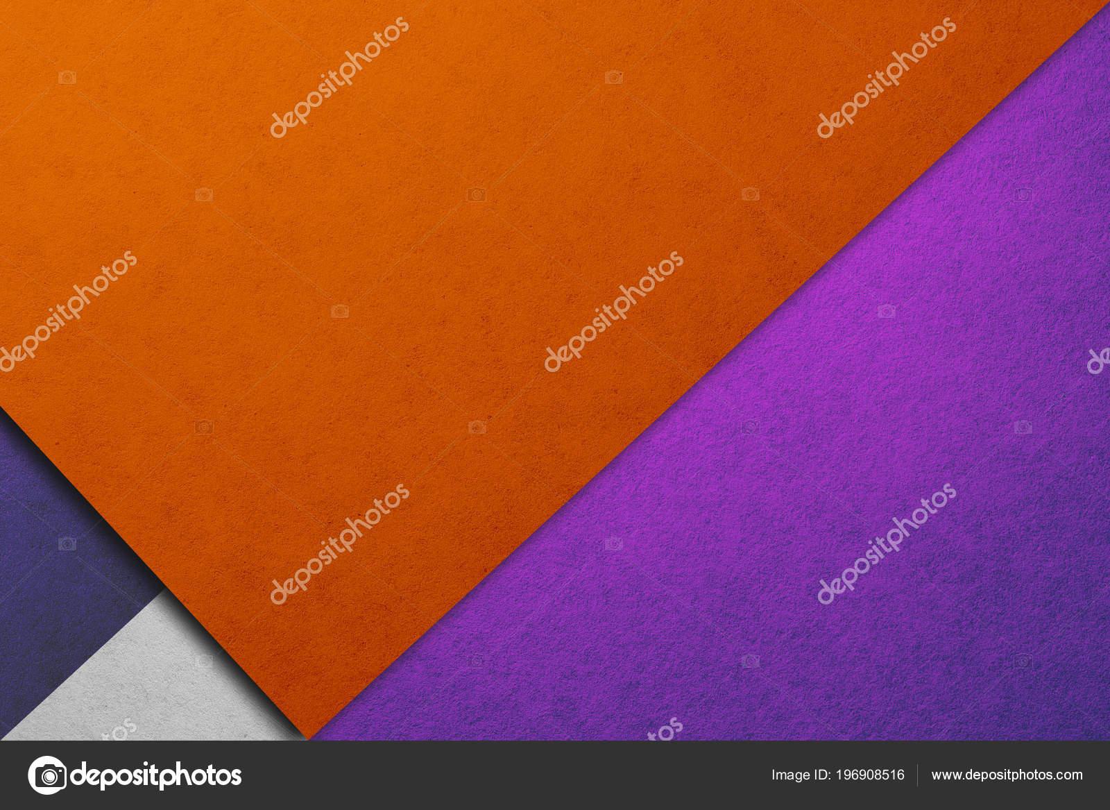 Papel Parede Projeto Material Textura Papel Real Laranja Roxo Tons —  Fotografia de Stock 2c8b0662fc3a0