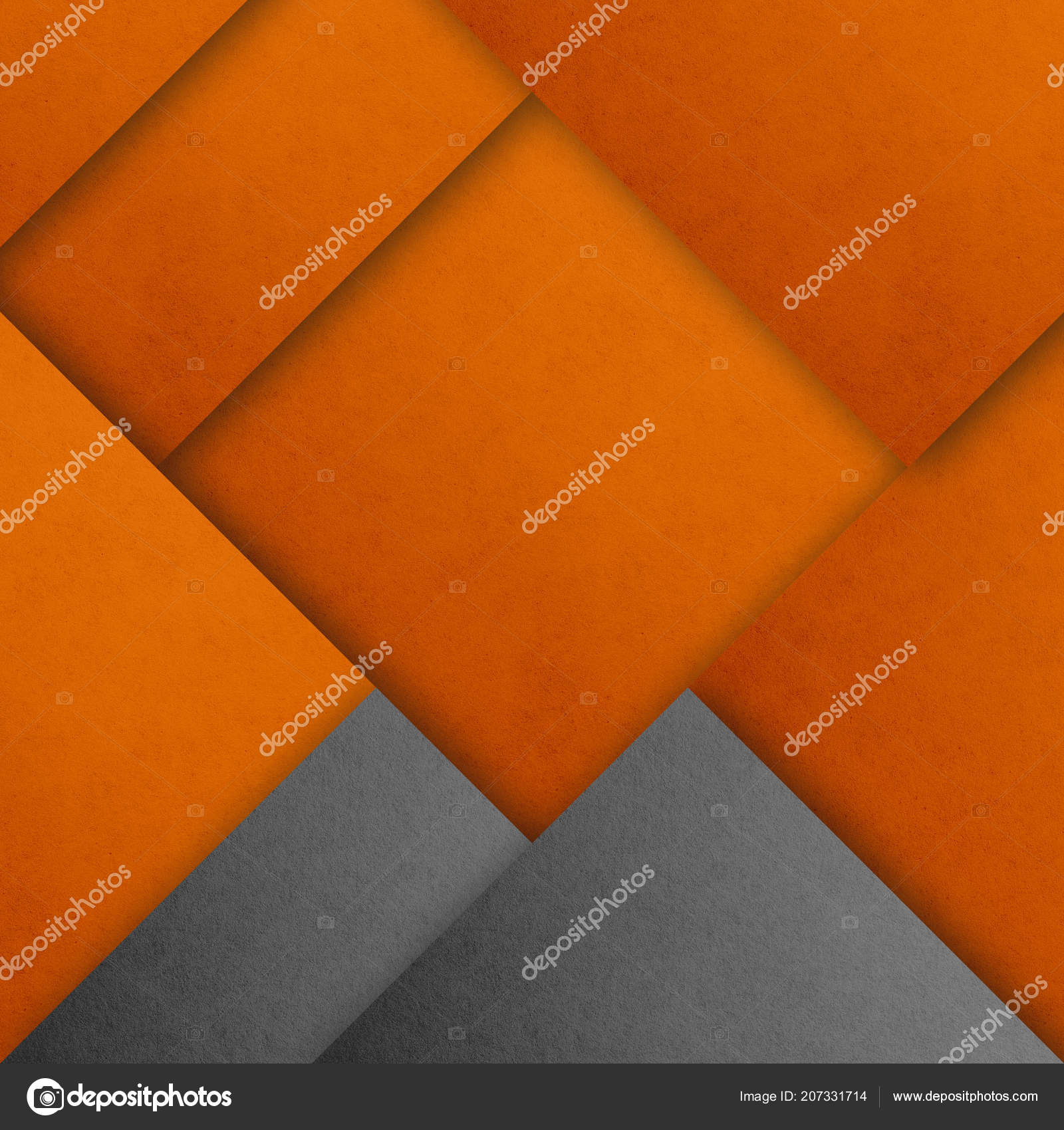 Material Design Wallpaper Real Paper Texture Gray Shades Orange Stock Photo C Inspired By The Light 207331714