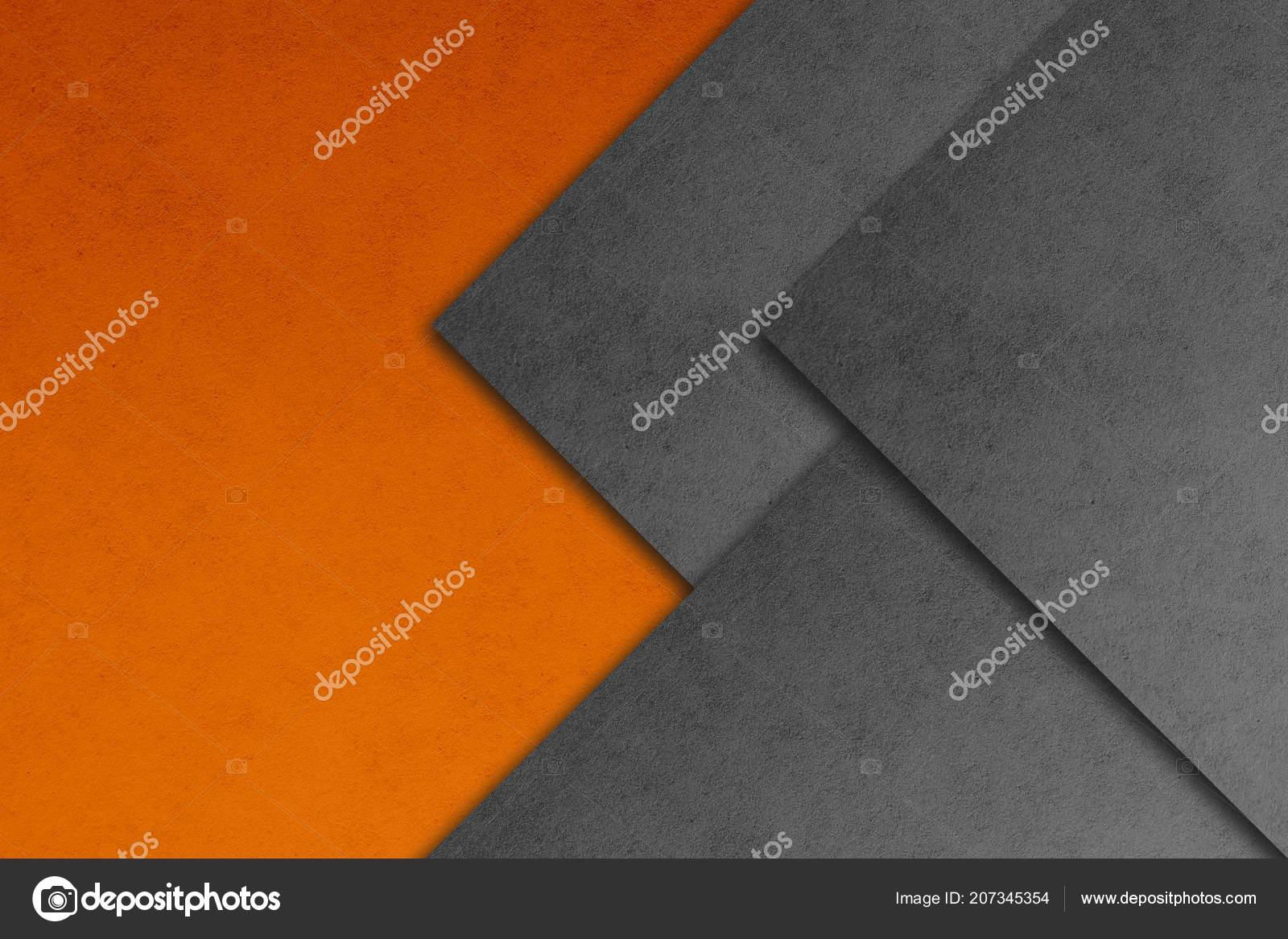 Material Design Wallpaper Real Paper Texture Gray Orange
