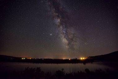 The Milky Way over Jensen, Utah, USA