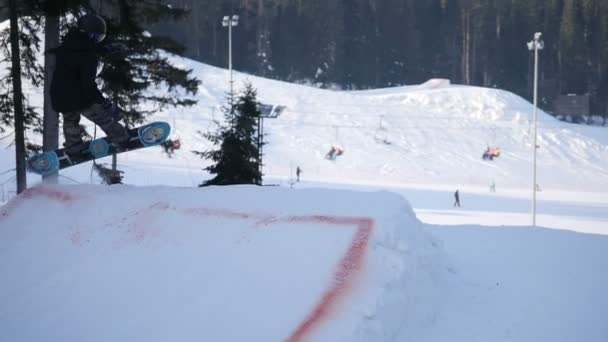 extreme snowboarding and skiing