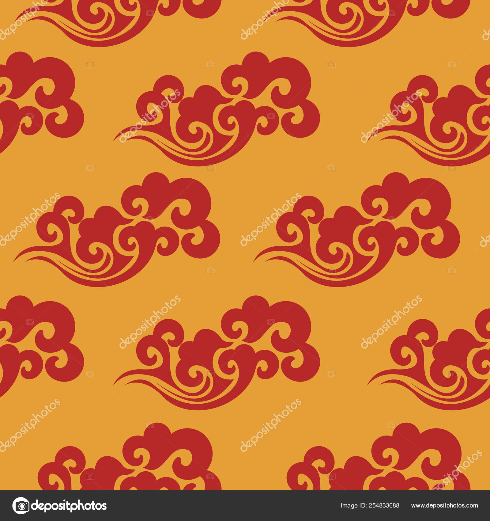 Vector Chinese Textile Patterns Vintage Abstract With China