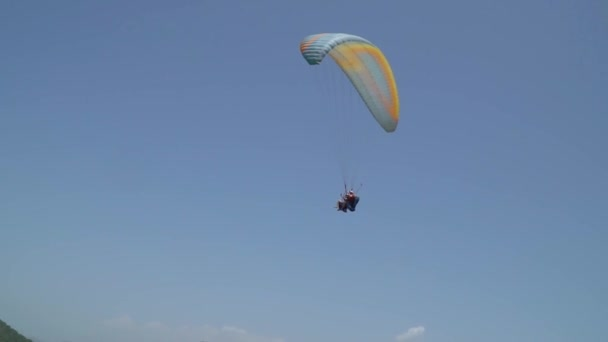 Parachute flight on a trip to Alanya