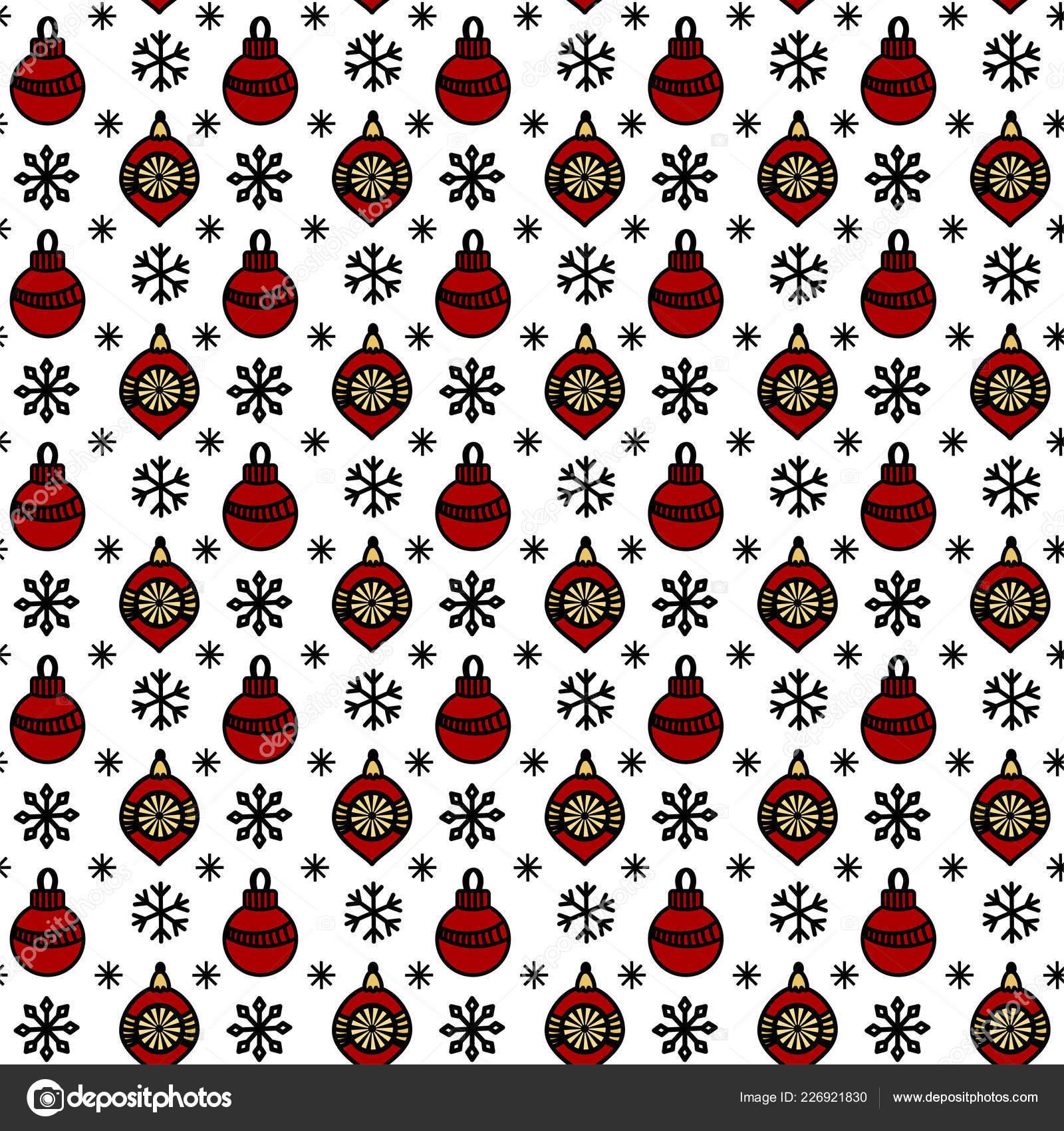 patrón sin costuras de Navidad — Vector de stock © elinorka #226921830