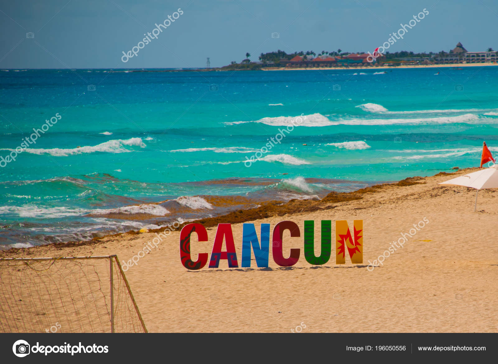 Horrible Dirty Beach Caribbean Sea Tina Seaweed Garbage