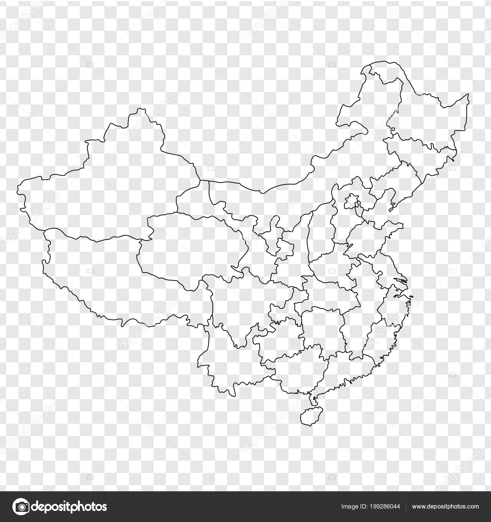 Background: outline map of china | Blank map China. Map of ...
