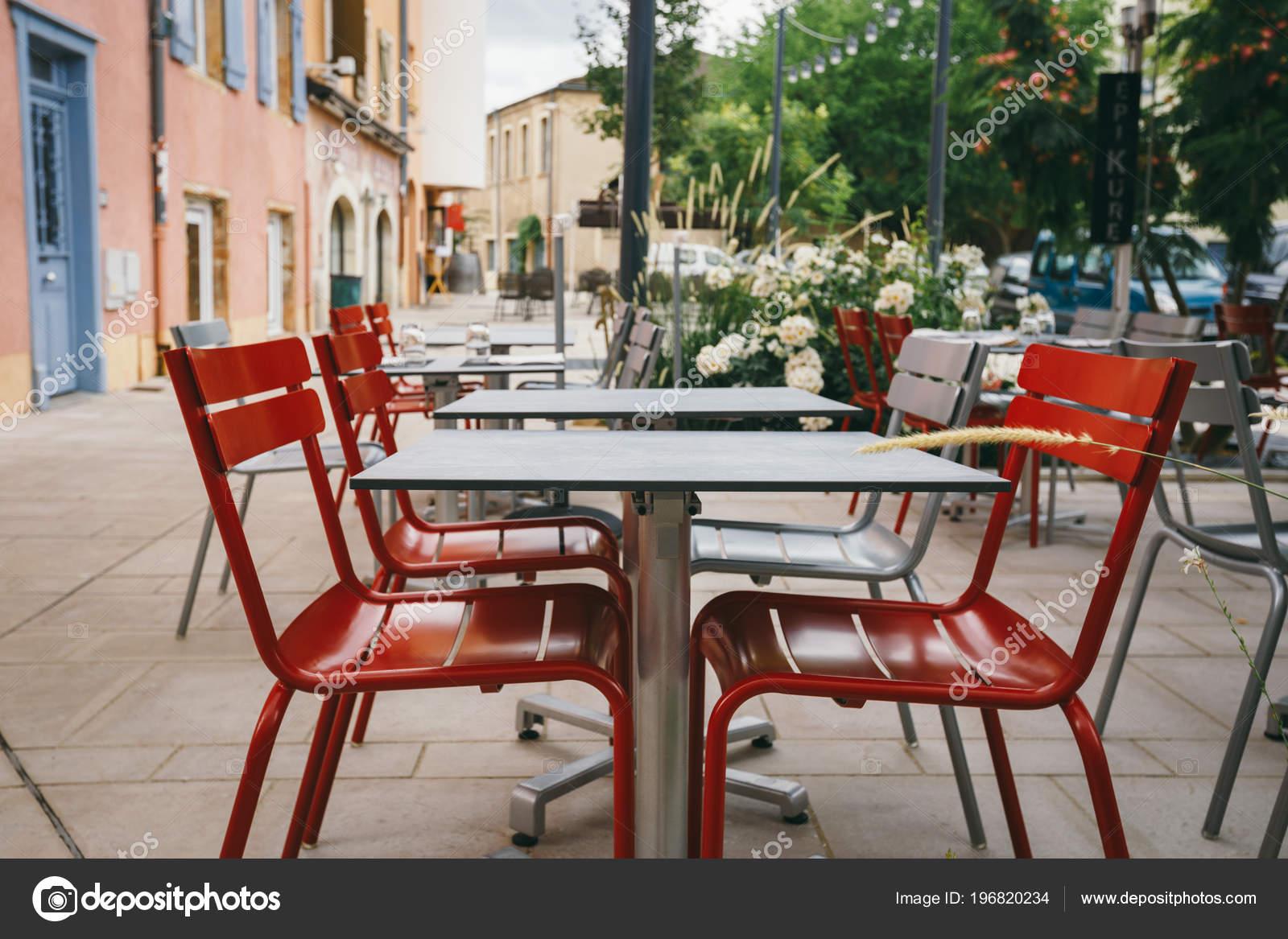 Theme Cafes Restaurants Exterior Summer Terrace Bright Colors Street Cafe Stock Photo C Veloliza 196820234